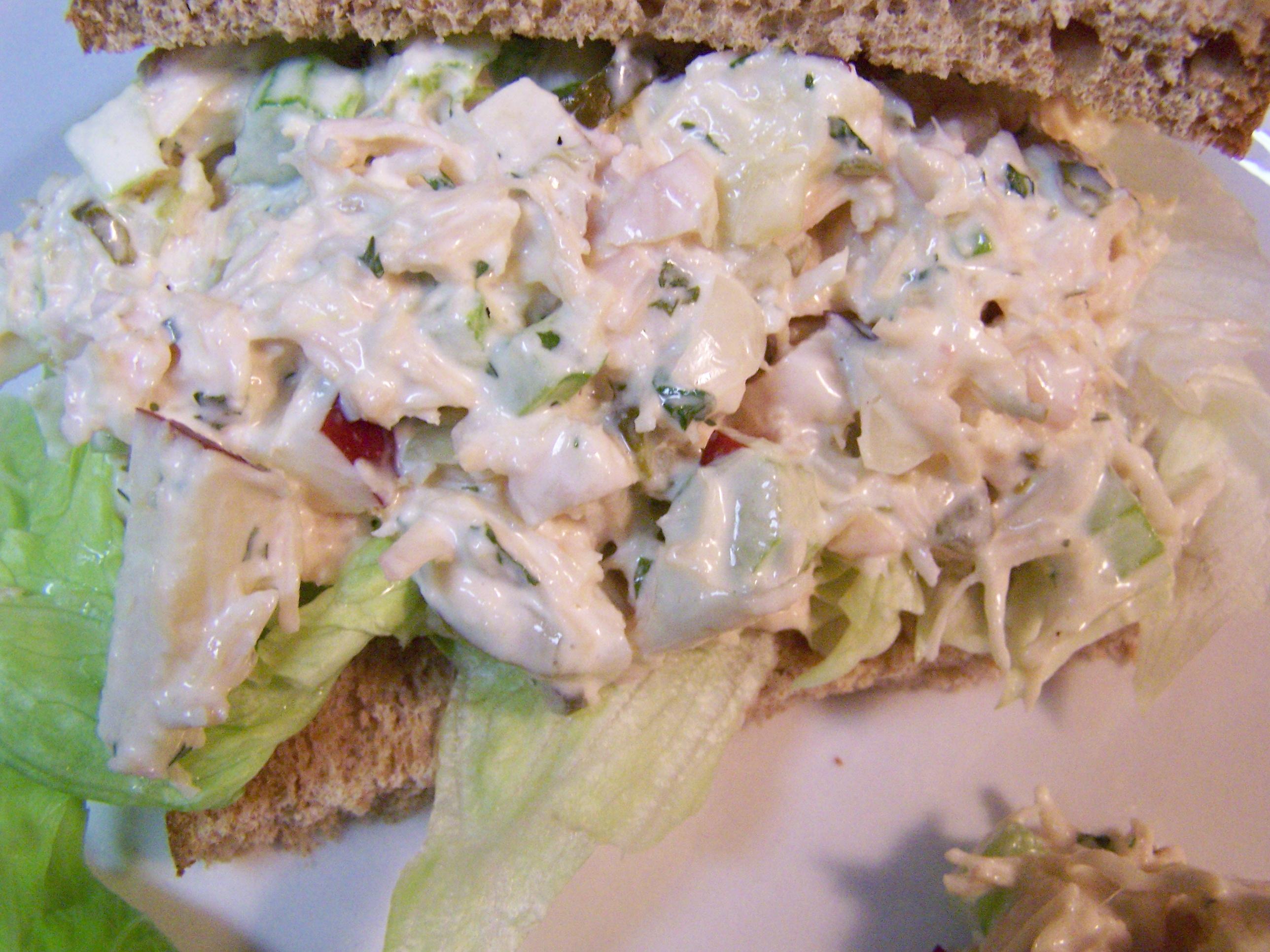 Chicken Salad Sandwich – Recipe | Ain't Found A Good Title Blog