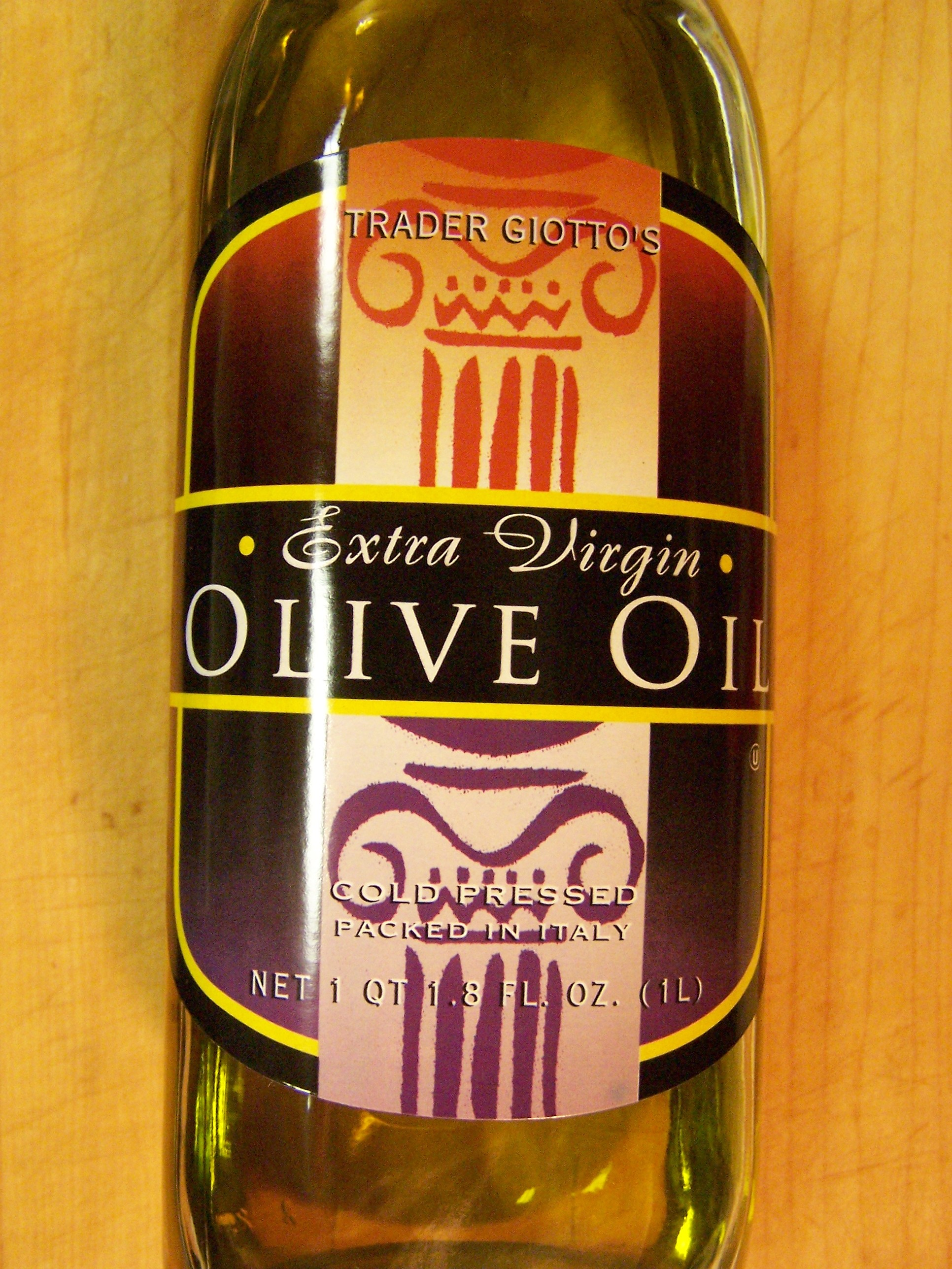 Trader joe s extra virgin olive oil food review oil for Trader joe s fish oil