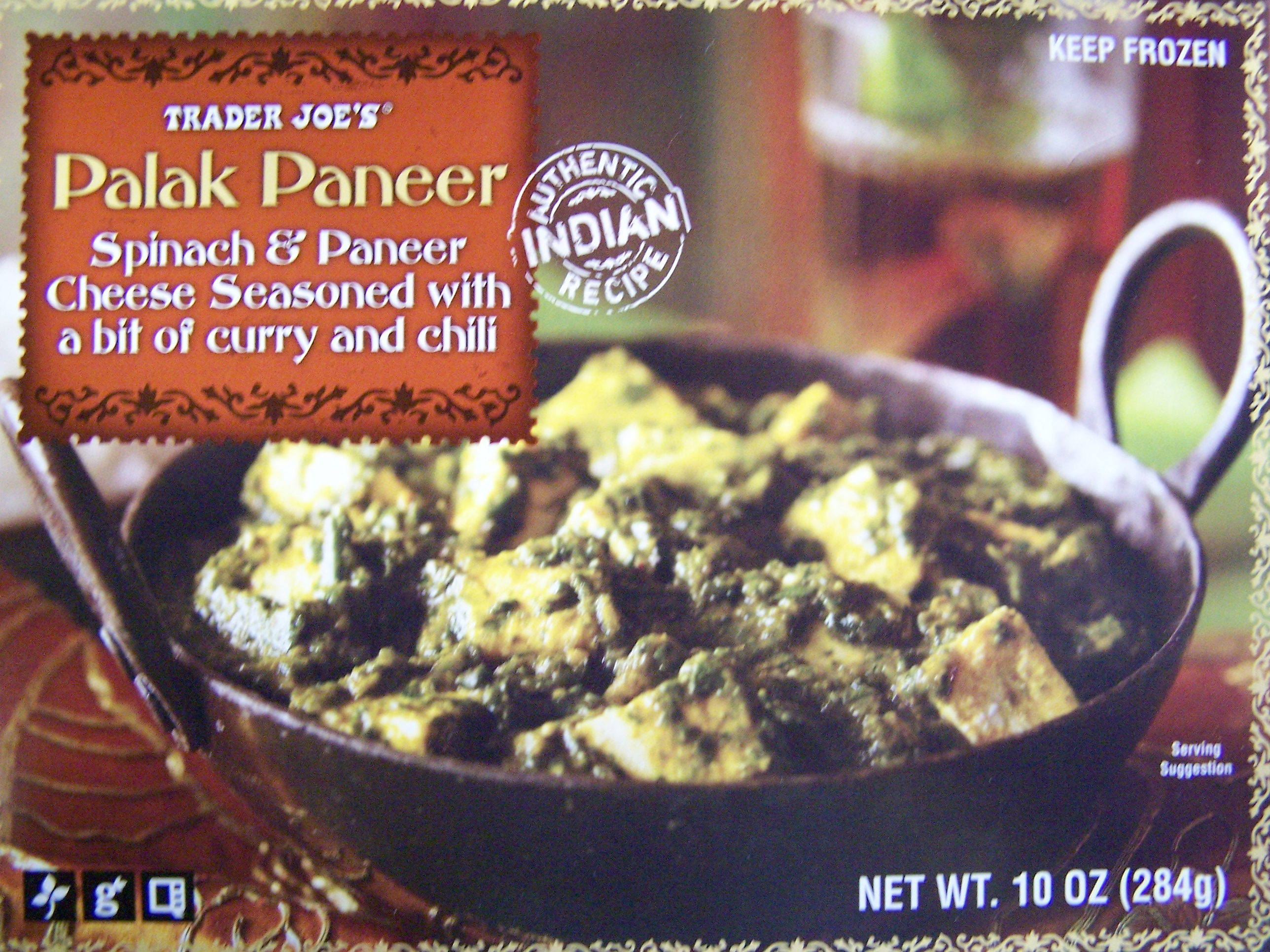 Trader joes palak paneer frozen food review aint found a just forumfinder Image collections