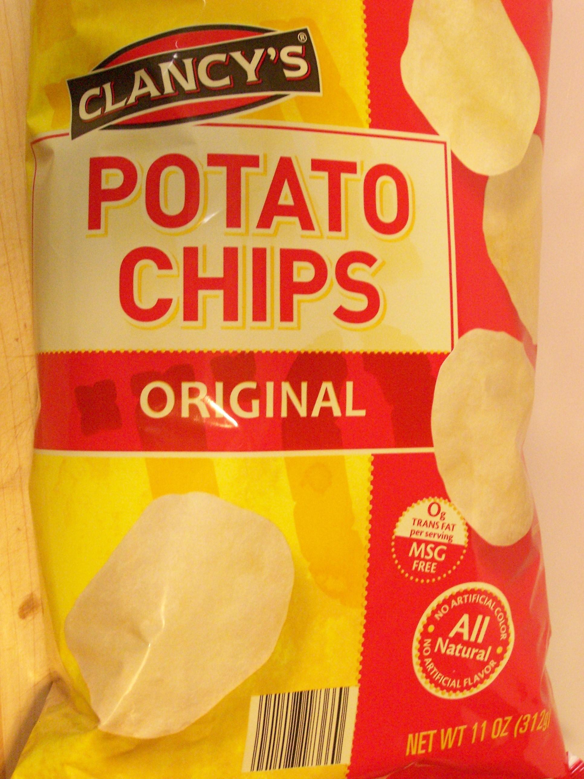 ALDI – Clancy's Potato Chips (Original) – Food Review | Ain't ...