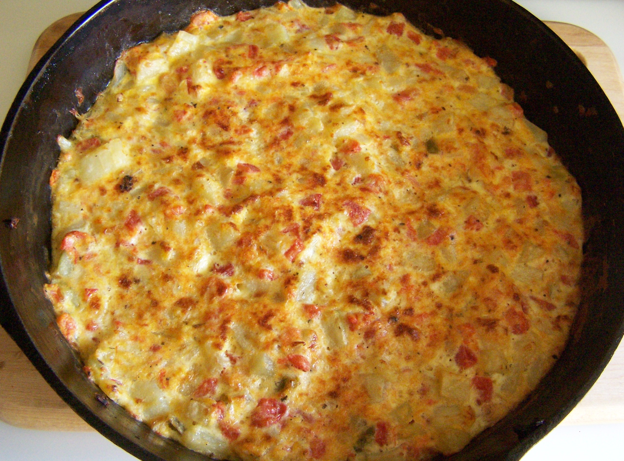 The Best Giant Frittata Recipe — Dishmaps