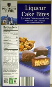 Liqueur Cake Bites - ALDI - 2