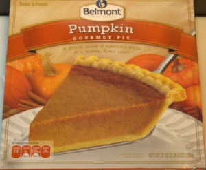 ALDI - Belmont Pumpkin Pie