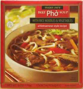 Trader Joe Beef Pho Soup Front