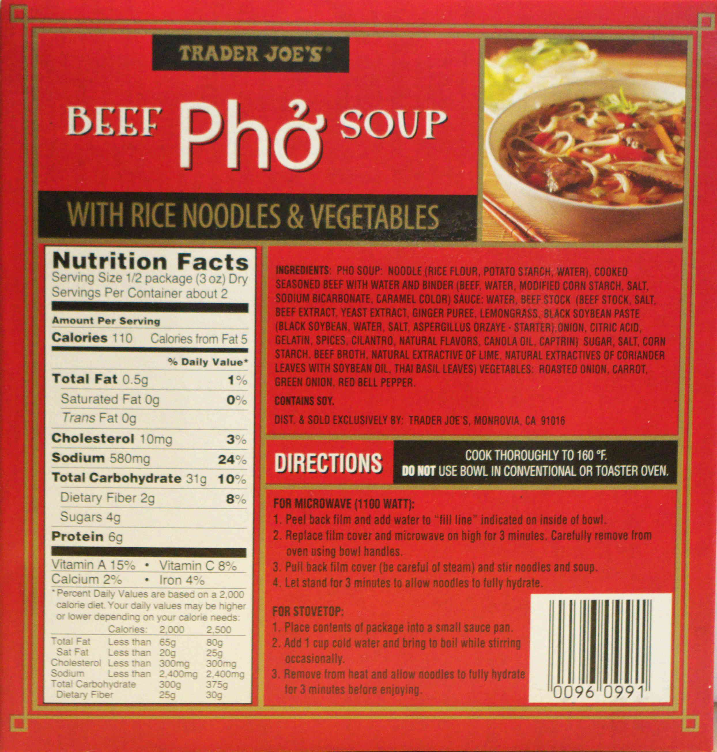 beef pho soup food review trader joe s ain 39 t found a good title blog. Black Bedroom Furniture Sets. Home Design Ideas
