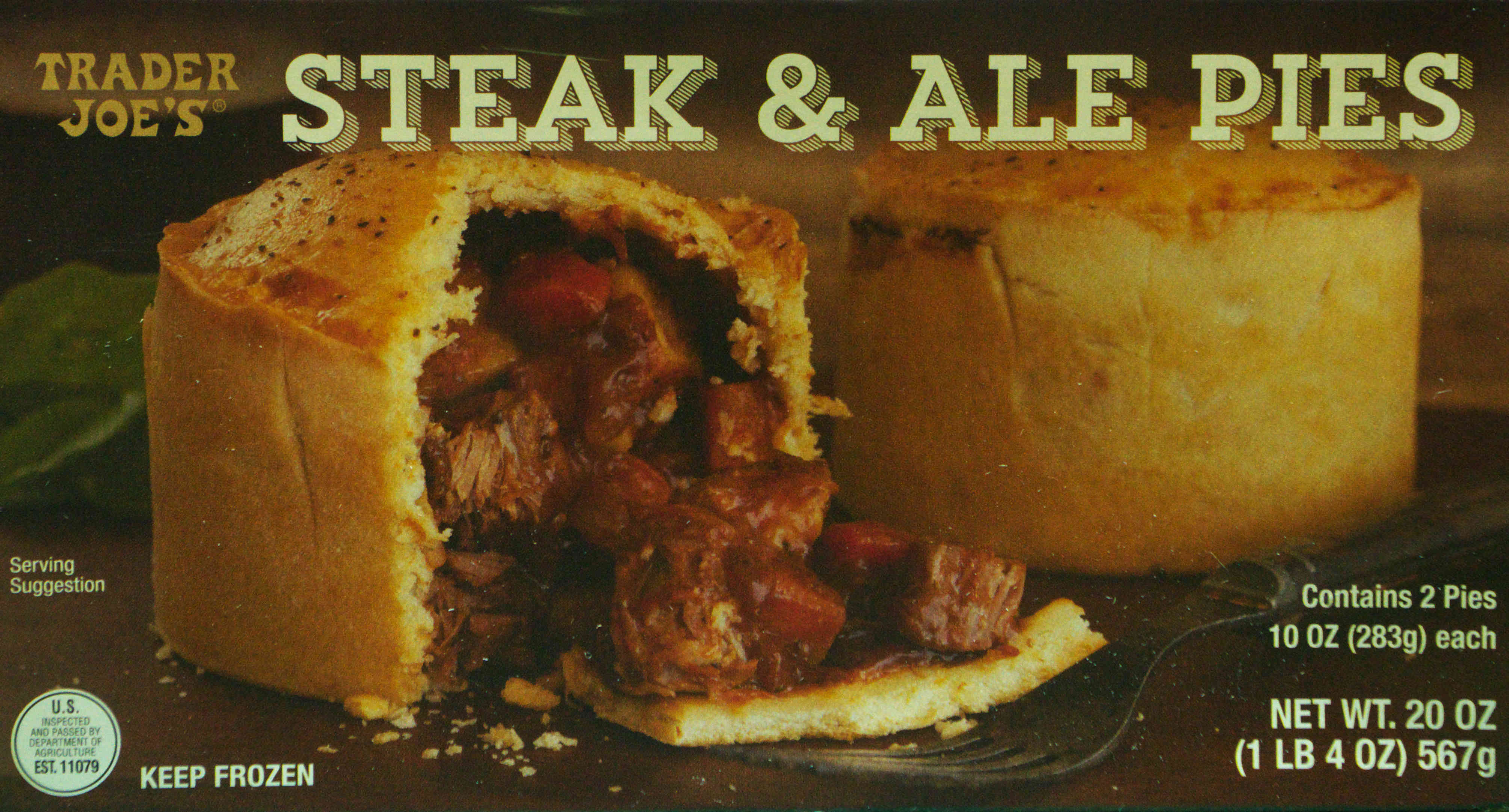 Steak & Ale Pies – Trader Joe's – Food Review | Ain't Found A ...