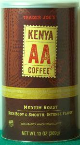 Trader Joe's Kenya Coffee