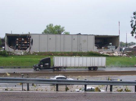 Tornado Damage - Back Of Building