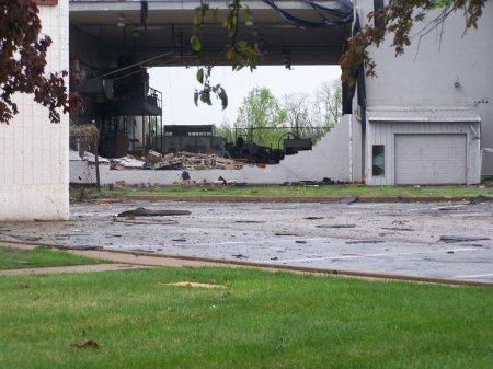 Tornado Damage - Front of Building