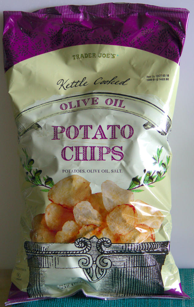 Trader joe s olive oil potato chips food review ain 39 t for Trader joe s fish oil