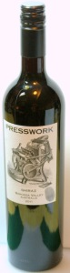 Presswork Shiraz 2011