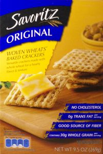 ALDI - Savoritz Baked Woven Wheat Crackers