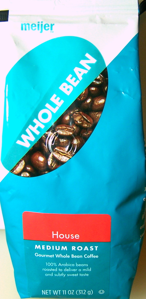 Meijer House Whole Bean Coffee Food Review Ain T