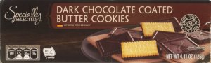ALDI Specially Selected Chocolate Covered Butter Cookies