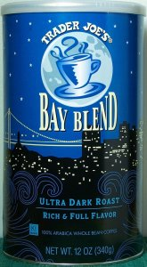 Trader Joe's Bay Blend Whole Bean Coffee