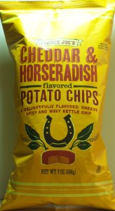 Trader Joe's Cheddar & Horseradish Potato Chips