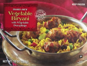 Vegetable Biryani Trader Joe's