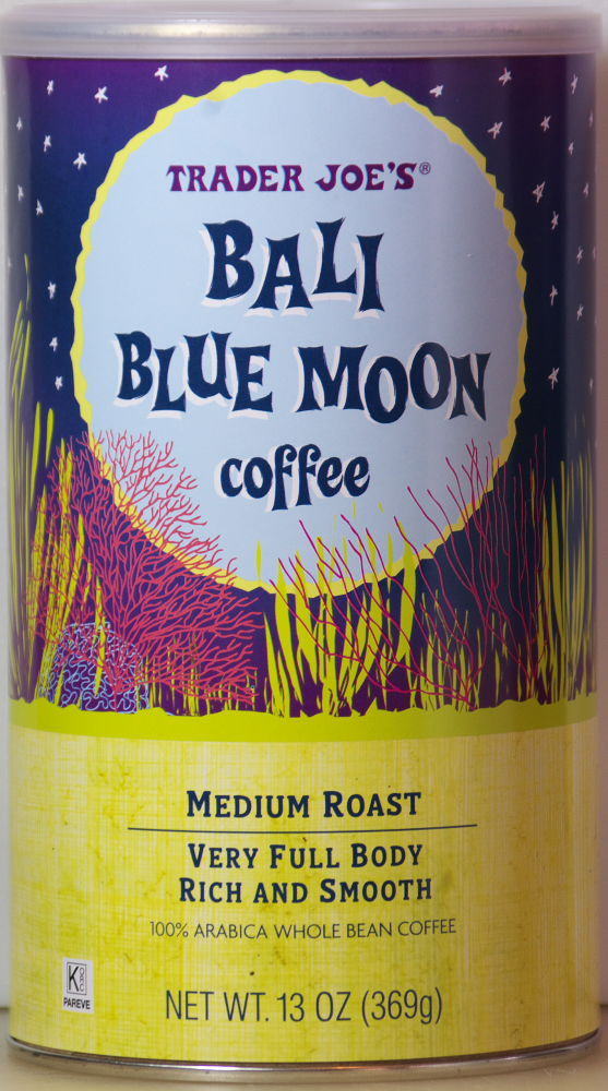Bali Blue Moon Whole Bean Coffee Food Review Trader