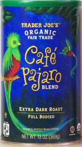 Cafe Pajaro Trader Joe's Coffee