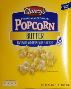 Clancy's Butter Popcorn ALDI