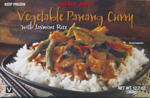 Vegetable Panang Curry, Trader Joe's, vegan