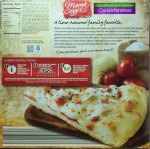 aldi, pizza, mama cozzi, chicken parmesan pizza, review, price, calories