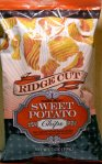 trader joe's, sweet potato, chips, ridge cut