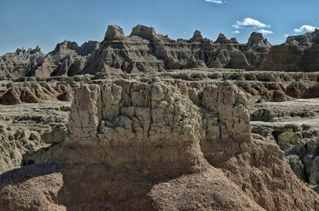 earth, layers, badlands, desert, rocks, landscape
