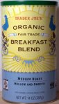 trader joe, whole bean coffee, breakfast blend, review, price