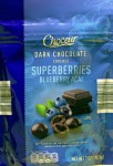 choceur, dark chocolate, superberryies, bluberry acai