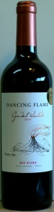 ALDI, wine, dancing flame, chile, red blend