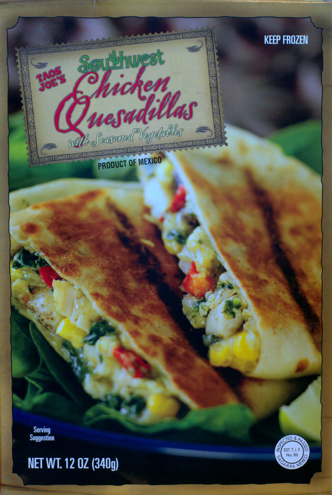 Trader Joes Southwest Chicken Quesadillas Food Review Aint