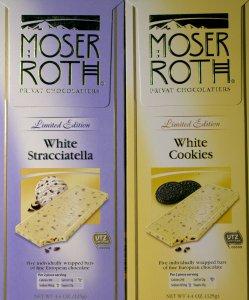 aldi, white chocolate, moser roth, white cookies, white stracciatella