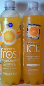 ALDI, frost drink, ICE drink, orange mango