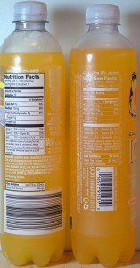ALDI, frost drink, ICE drink, orange mango, nutrition