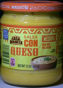 ALDI, salsa, con queso, medium, casa mamita