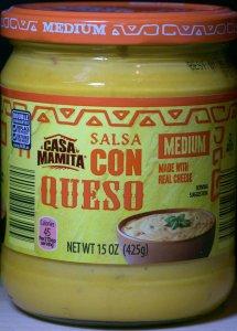 ALDI, salsa, con queso, medium, casa mamita