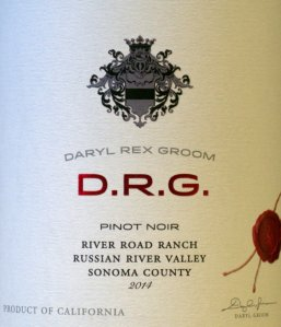 DRG, pinot noir, russian valley, sonoma, california, wine, review