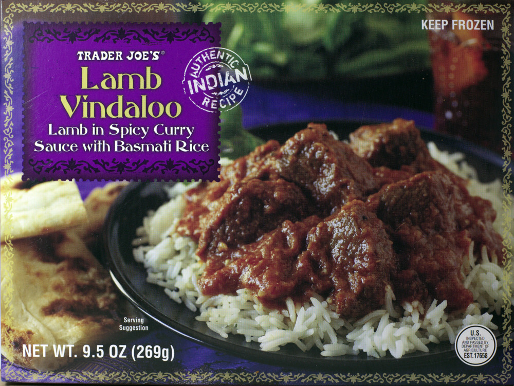 Trader Joe's Lamb Vindaloo – Food Review | Ain't Found A Good Title Blog