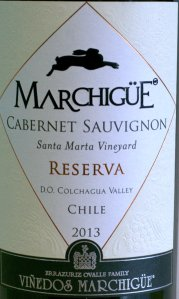 trader joes, marchigue cabernet sauvignon, chile, colchagua valley, 2013, reserva, wine