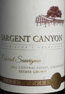cabernet sauvignon, sargent canyon, california, wine, ALDI, central coast
