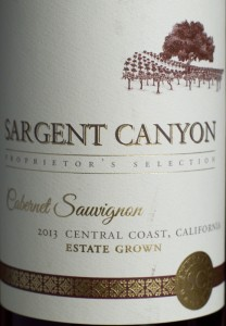 cabernet sauvignon, sargent canyon, california, wine, ALDI, central coast