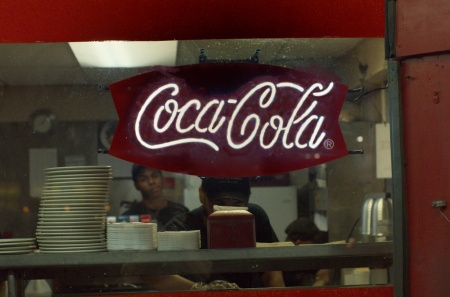 coca cola, burger, diner, street photography, magic elixir