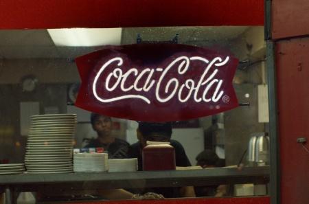 coca cola, burger, diner, street photography, magic elixir