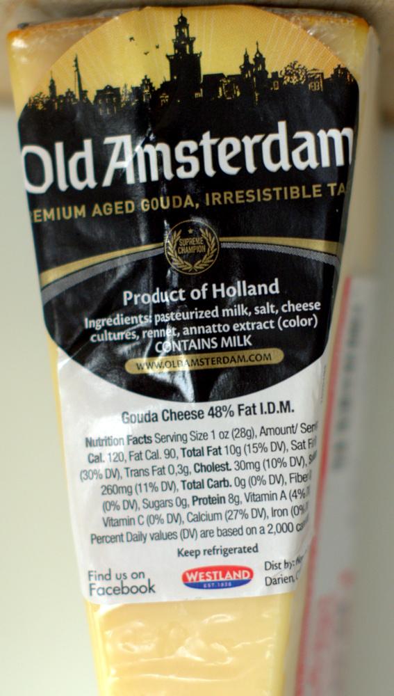Old Amsterdam Aged Gouda Cheese – Food Review – Trader Joe\'s | Ain ...