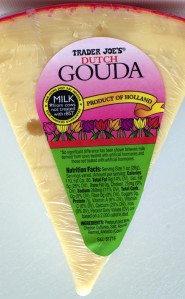 Dutch Gouda cheese, Holland, Trader Joe's,