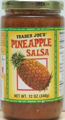 Trader Joe's, Pinapple Salsa, review, price