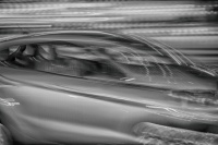 WPC, horizon, moving, car, monochrome, hdr, street photograpy