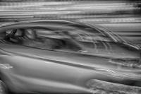 WPC, horizon, moving, car, monochrome, hdr, street photograpy