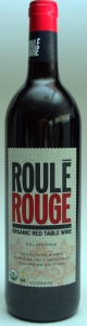 roule rouge, red table wine, trader joes